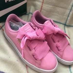 New Puma Pink Sneakers